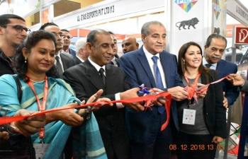 Inauguration of Indian Pavilion at Food Africa 2018