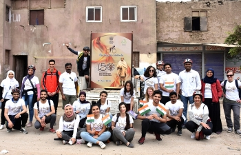 Cycling event as a part of 150th Birth Anniversary celebrations of Mahatma Gandhi