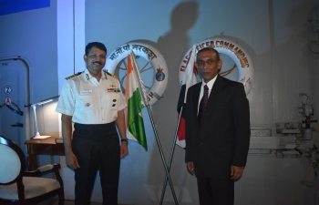 Arrival of Indian Naval Ship Tarkash at Alexandria on 28 June 2019