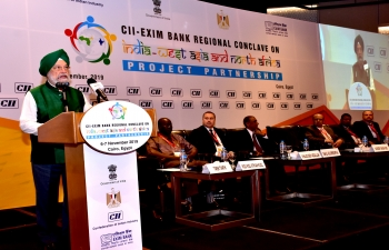CII-EXIM Bank Regional Conclave on India - West Asia and North Africa