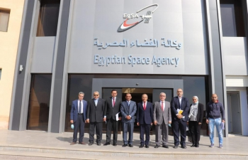 Ambassador's visit to Egyptian Space Agency on 29 November 2020
