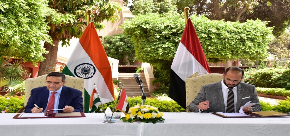Ambassador Ajit Gupte and CEO of EVA PHARMA, Egypt signed an agreement on 10 May 2021, to procure 300,000 doses of REMDESEVIR from EVA PHARMA