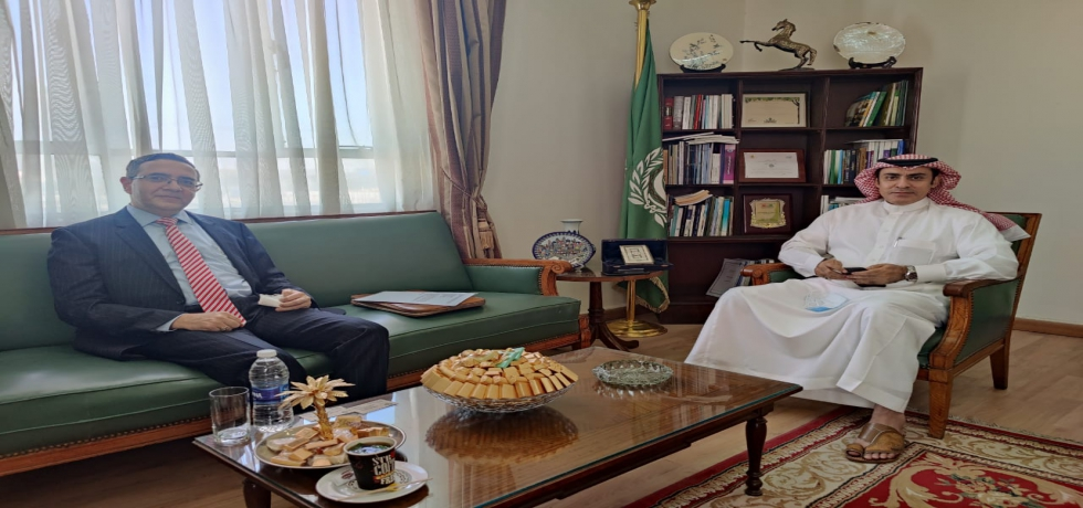 Ambassador Ajit Gupte called on Dr. Khaled N Al-Habbas, Assistant Secretary-General for Political Affairs, League of Arab States on 19 May 2021