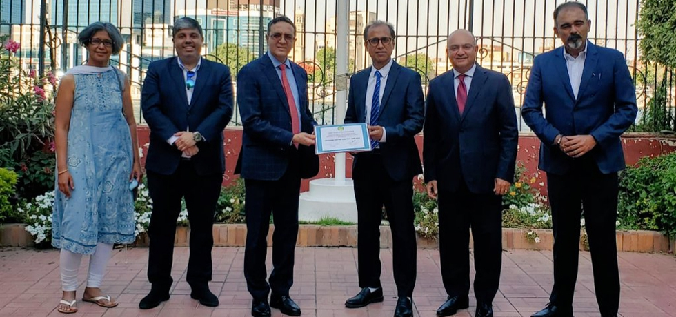 Indian Community Association in Egypt (ICAE) donated Rs. 30 Lacs to Indian Red Cross Society to support India in fight against Covid-19 pandemic