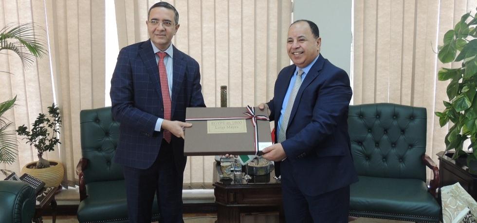 Ambassador Ajit Gupte called on Dr. Mohamed Maait, Egypt's Minister of Finance on 27 July 2021