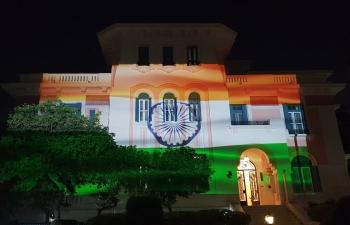 Illumination of India House