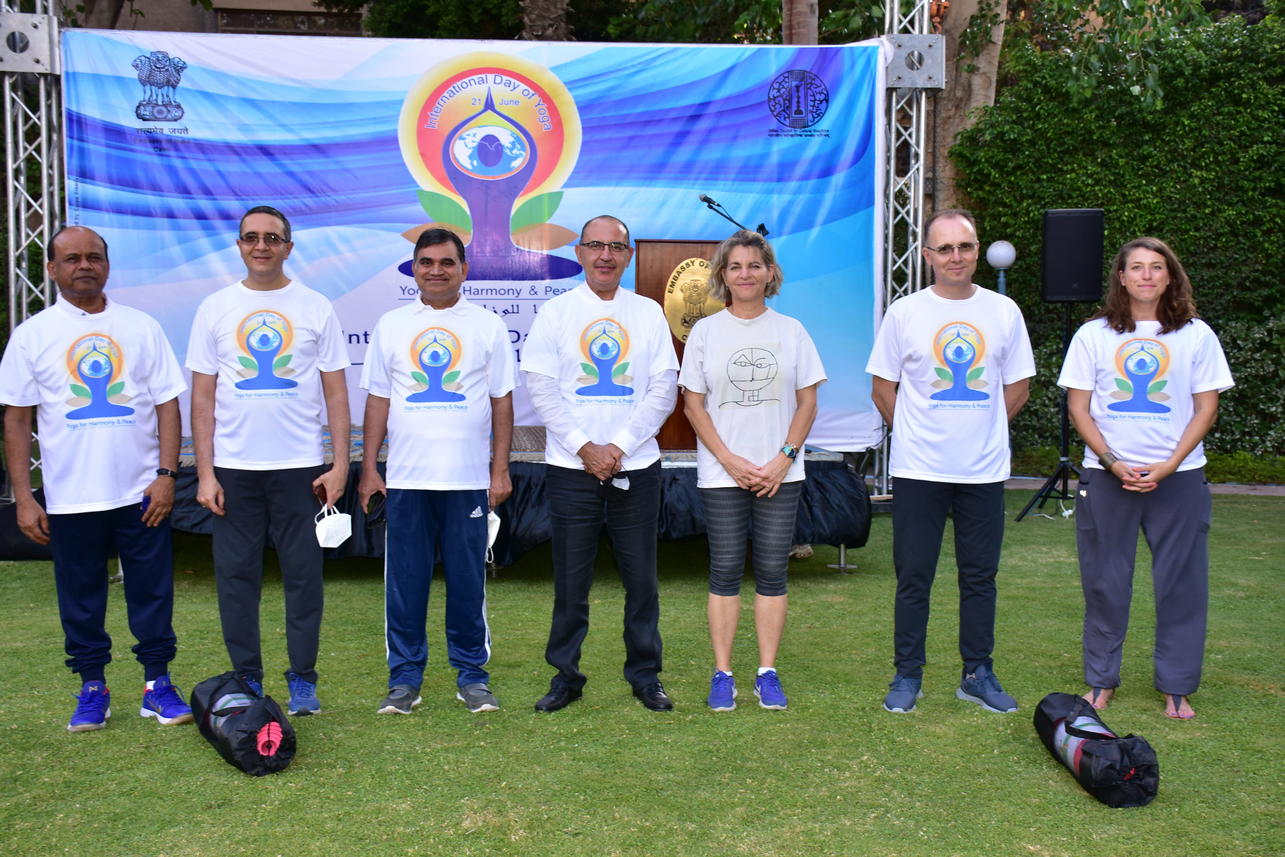 Curtain Raiser for IDY 2021 at 'India House' on 19 June 2021
